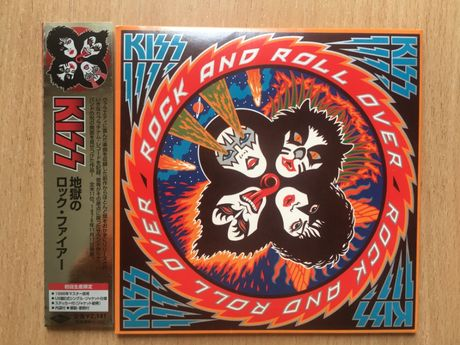 Kiss – Rock And Roll Over 1976 CD Japan