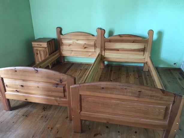 Sprzedam łóżko drewniana