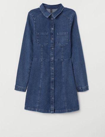Джинсова сукня H&M
