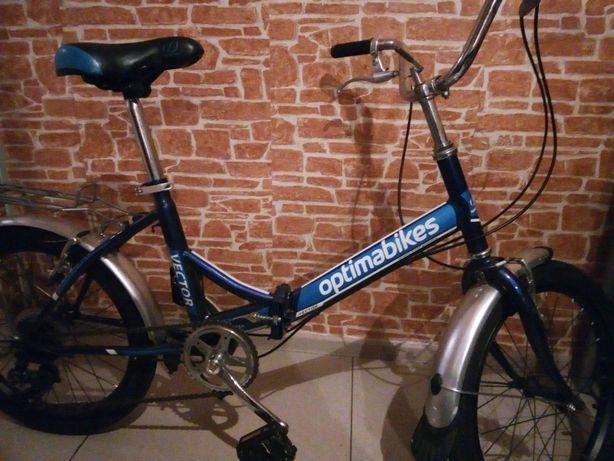 Велосипед складной optima vector 24 б/у