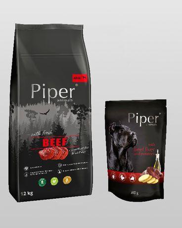Piper Dolina Noteci karma sucha dla psa 12 kg - różne smaki