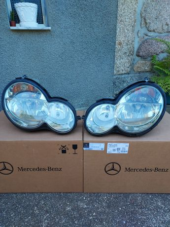 Faróis Mercedes-Benz C220