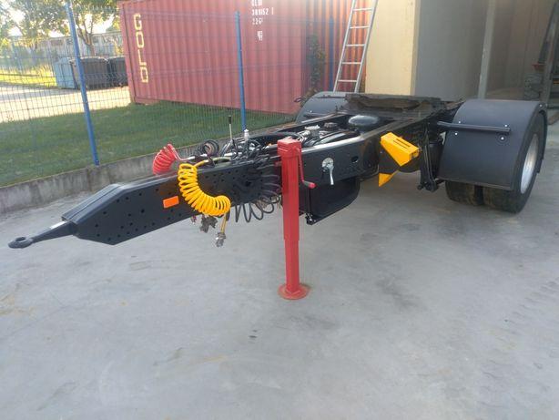 Wózek Dolly pod naczepę platformę wywrotkę beczkę