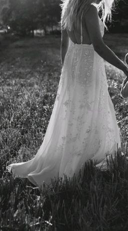Okazja! Suknia ślubna asos bride boho/rustykalna