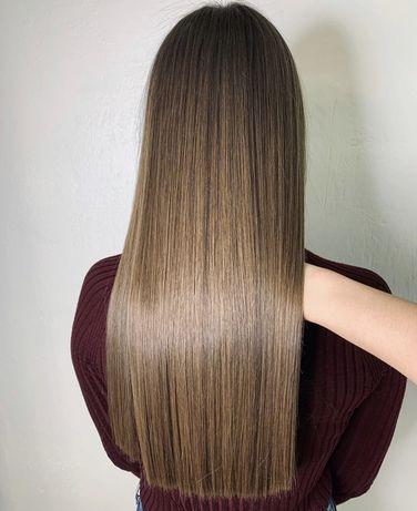 Ботокс , кератиновое выпрямление ,покраска волос