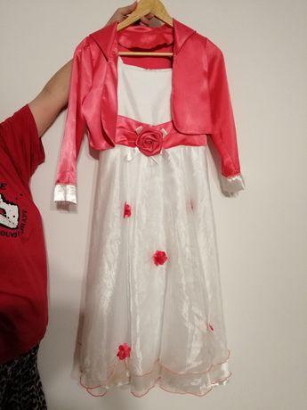 Sukienka z bolerkiem 152 cm