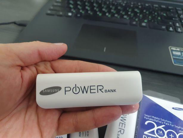 Карманный портативный повербанк Мини Power Bank Samsung .2600 mAh