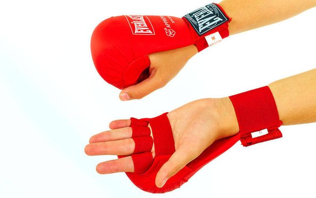 Защита рук кисти накладки битки перчатки каратэ карате бітки захист