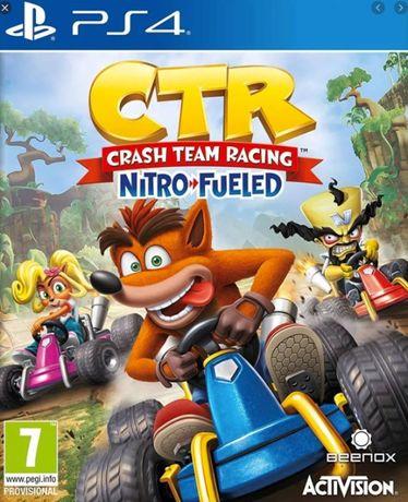 CRASH Team Racing CTR Nitro Fueled PS4 idealna polska DLC paragon