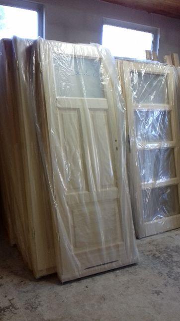 Drzwi drewniane wewnętrzne sonowe