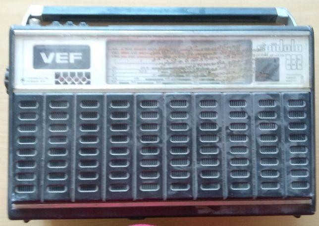 VEF SPIDOLA 232 радиоприёмник СССР