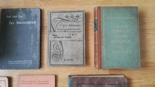 Stare ksiazki niemieckie kolekcjonerskie