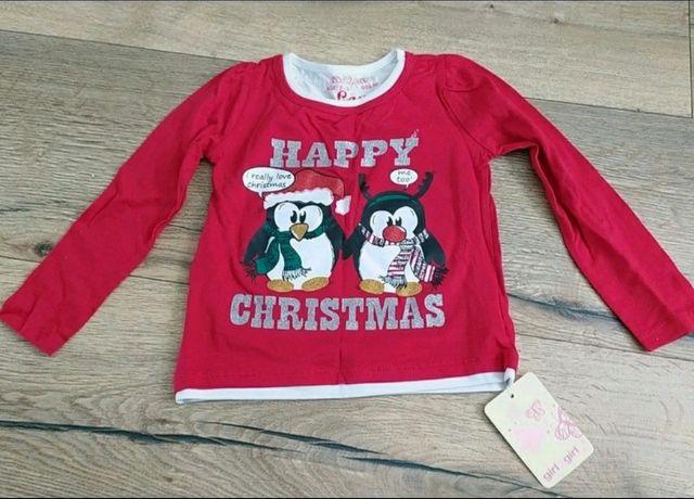 Nowa świąteczna bluzeczka