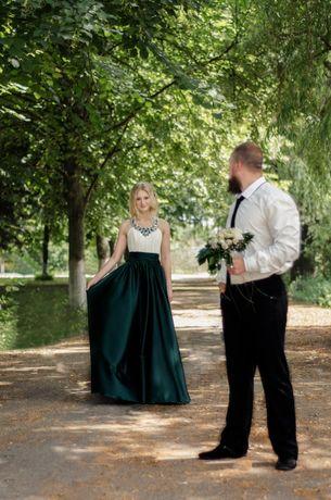 Продам выпускное/свадебное/вечернее платье+перчатки в подарок