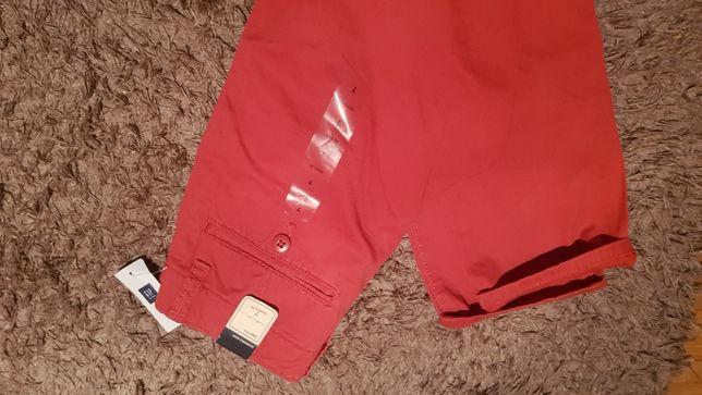 Nowe ceglaste spodnie chinos gap rozmiar 122