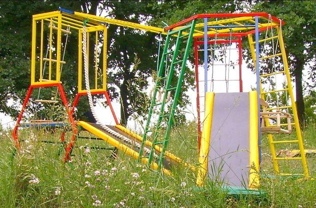 детский игровой комплекс, площадка, горка, качель, спортивный мат