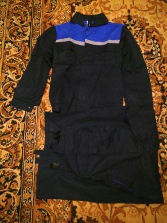 Спецодежда, комбинезон, куртка и брюки