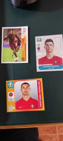 3 Cromos do CR7 Euro 2008, Euro 2020 Preview e Euro 2020 Tournament