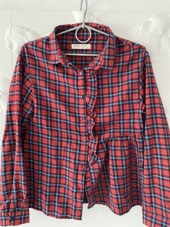 Ubrania dziewczynka 158 - 164 zara koszula jeansy