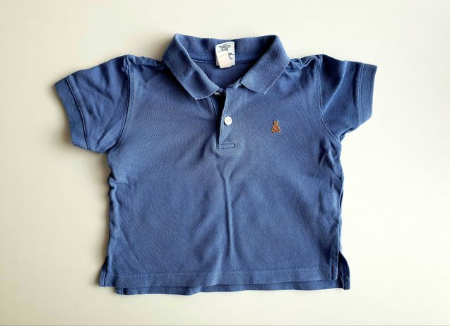Polo, koszulka z krótkim rękawem r.74/80 marki GAP