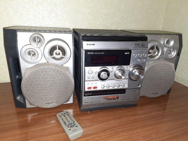 Музыкальный центр AIWA NSX-R51 с двумя колонками