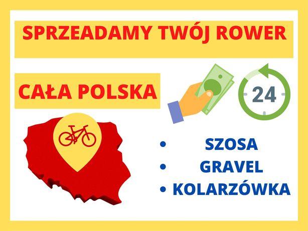 Największy w Polsce Komis Rowerowy - Sprzedamy twój rower za 0 zł