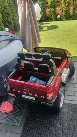 Samochodzik autko Ford Ranger Truck na akumulator czerwony dla dziecka