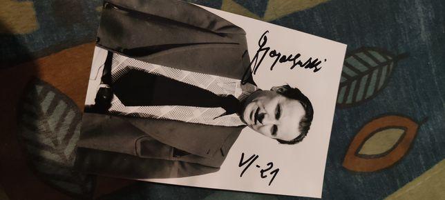 Ignacy Gogolewski! Zdjęcie z autografem!
