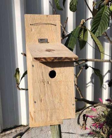 Caixas Ninho | Chapim | Rustico | Pássaros | Ninhos para Pássaros