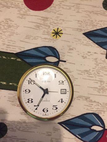 Stary zegarek/budzik turystyczny Europa 2 Jewels
