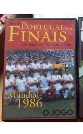 DVD da seleção Portugal nas finais de 1986
