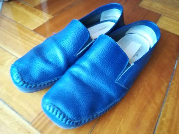 sapatos 44 azuis