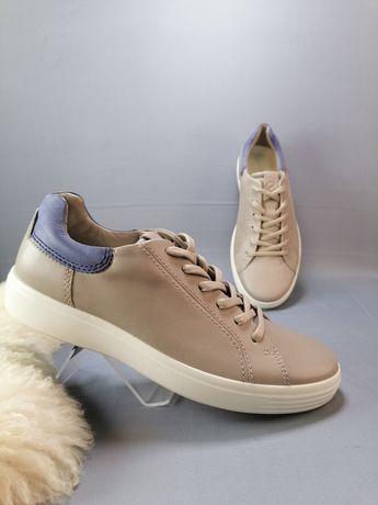 Ecco soft 7... Стильні чоловічі шкіряні кросівки р. 39
