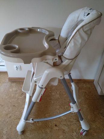 Krzesełko do karmienia firmy BabyMix.