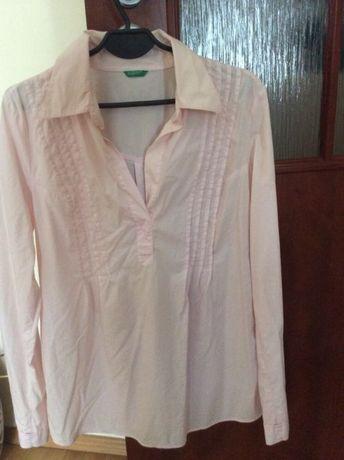 Koszula ciążowa M/L różowa UNITED COLORS OF BENETTON