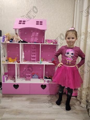Кукольный домик Барби ЛОЛ принцесса монстер хай игрушка Смешарики