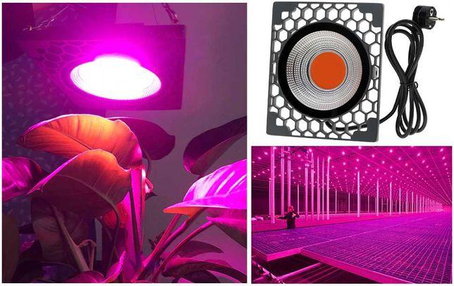Panel Lampa Wisząca COB GROW LED do uprawy roślin