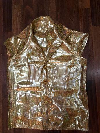Рубашка и чешки для выступлений, танцев, латина.Чешки 23см, 37 размер.