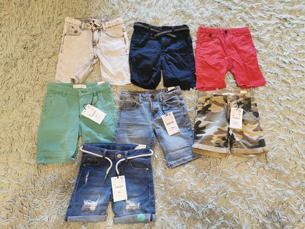 Szorty krótkie spodenki lato Zara jeansowe
