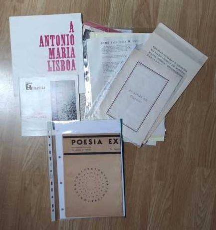 Contemporânea/A. M. L./Almada/Cesariny/Natália Correia
