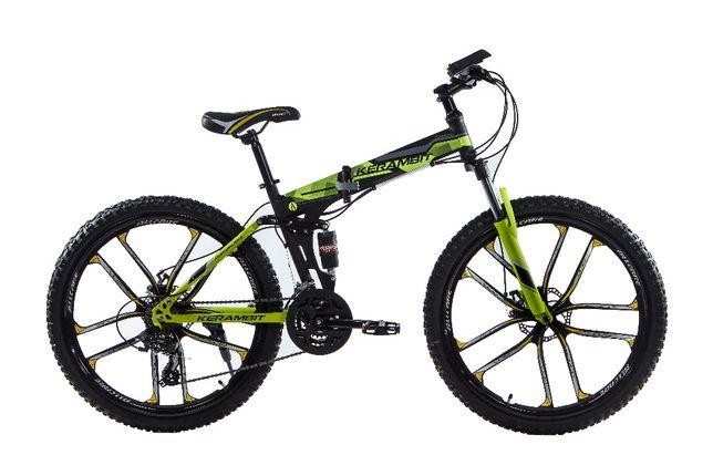"""Складной стальной велосипед Kerambit на литых дисках 26"""" рама 17"""""""