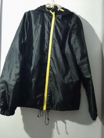Kurtka sportowa czarna chłopięca GO SPORT 172 cm polarowa