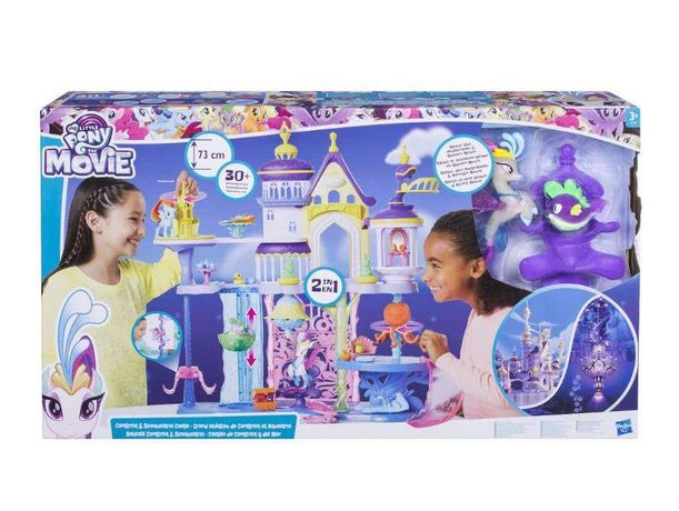 Hasbro My Little Pony C1057 Игровой н. Волшебный Замок.Прочитай меня