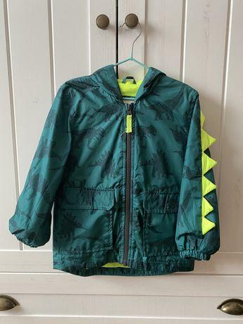 Курточка ветровка Carters с динозаврами