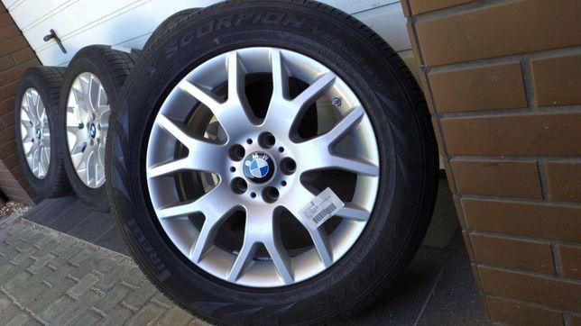 Koła aluminiowe BMW X5 E70 F15 18'' 5x120 opony letnie 255/55/18