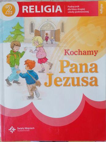Podręcznik, książka do religii do 2 klasy.