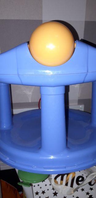 Krzesełko do kąpieli z przyssawkami 6m+ czyste zadbane