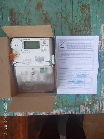 Продаю электронный счётчик Gama 100 G1M.153 двухзонный день/ночь