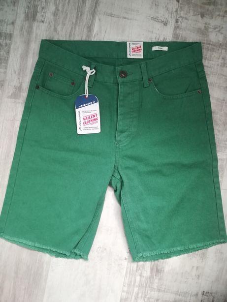 Nowe!!! Spodenki spodnie krótkie S