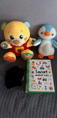 3szt. Zabawki interaktywne książeczki zestaw